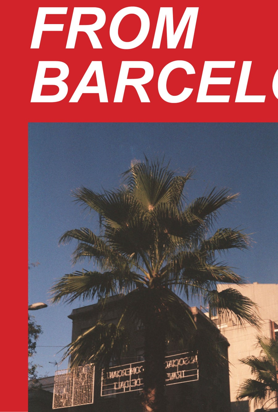"Image of ""FROM BARCELONA"" (Photobook)"