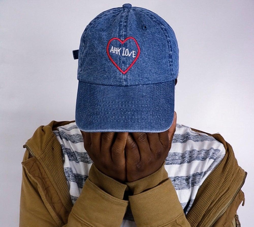 Image of Denim Ahk Love Hat