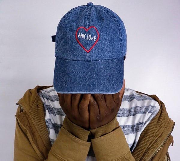 Image of Denim Ahk Love Hat