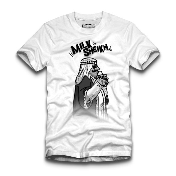 Image of Milksheik T-shirt white