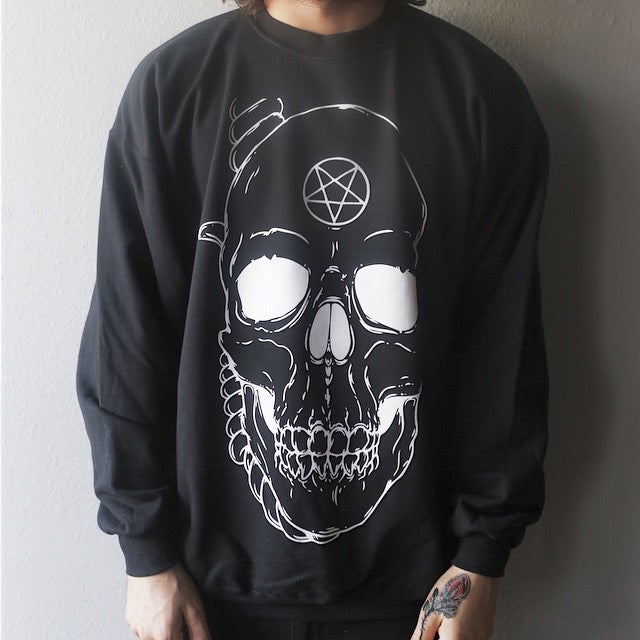 Image of Skull Crewneck