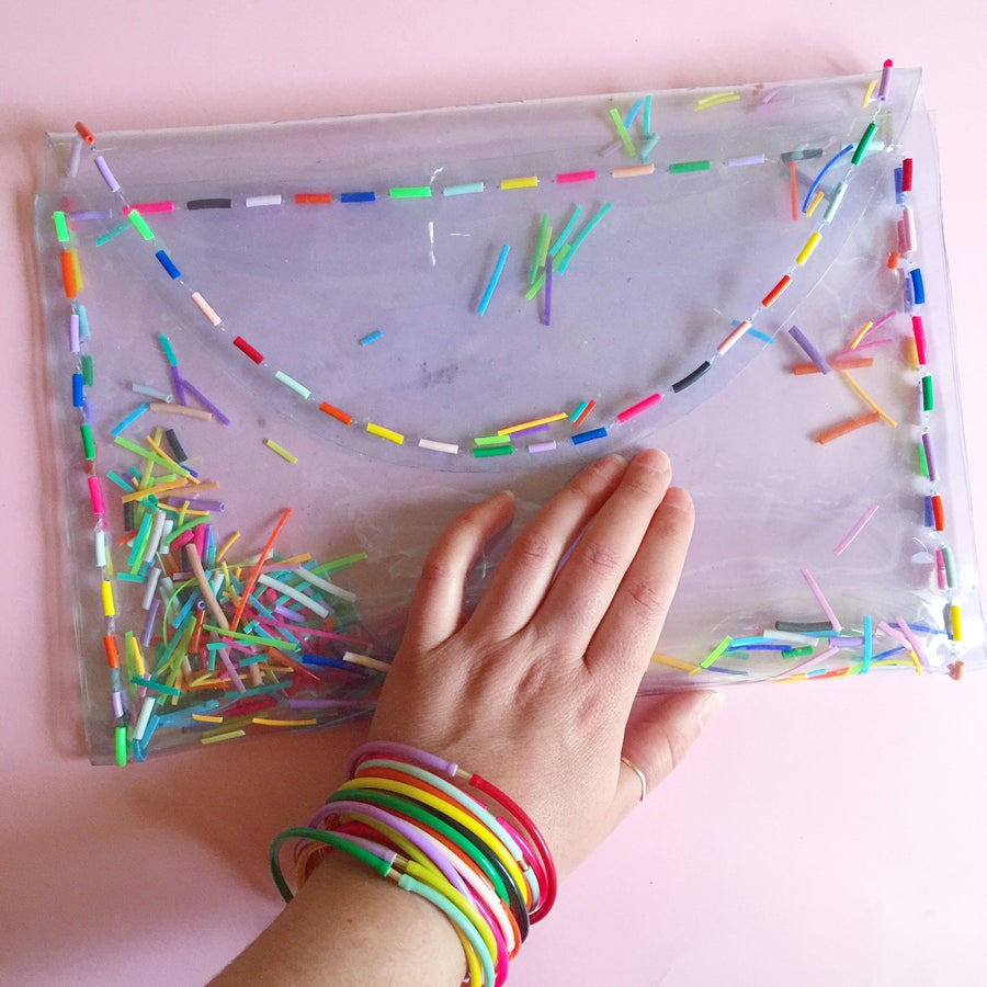 Image of Confetti Clutch