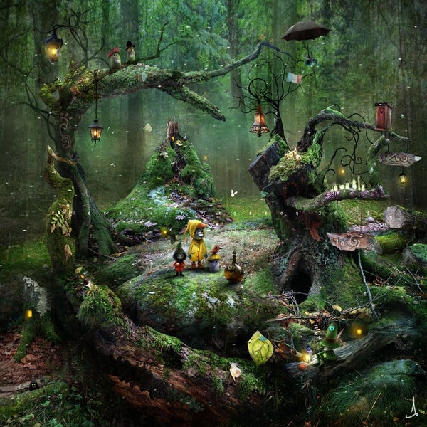 """Gnarly Moss Periphery"" - Alexander Jansson Shop"