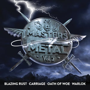 Image of V/A (BLAZING RUST - CARRIAGE - OATH OF WOE - WARLOK) - Masters Of Metal: Volume 2