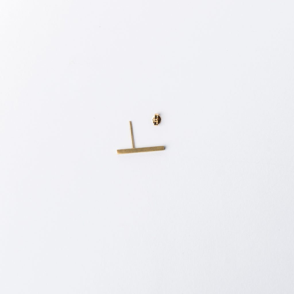 Imagen de Minanaro single big stick earring