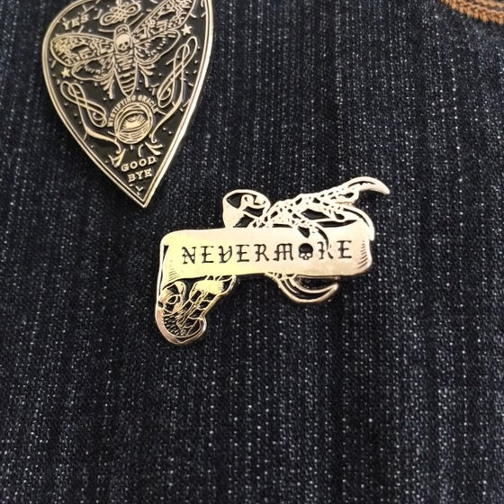 Image of Nevermore Pin