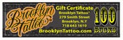 Image of $100Gift Certificate
