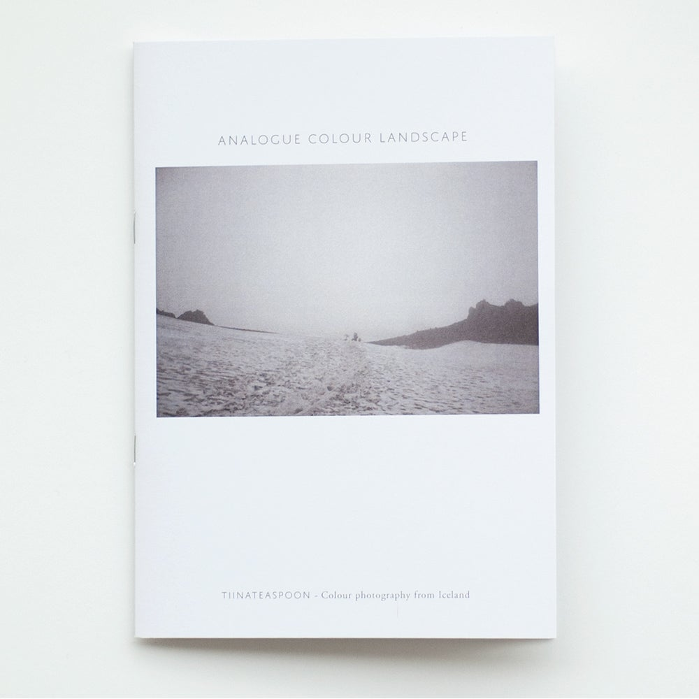 Image of Analogue colour landscape - artist photo book
