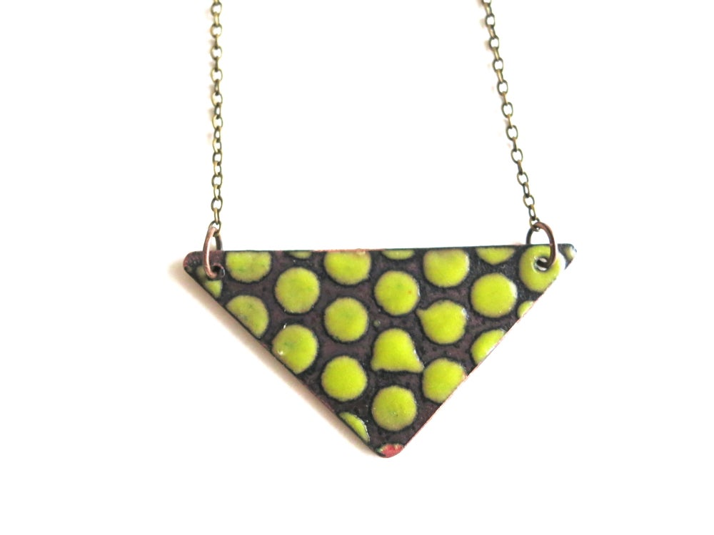 Image of Chartreuse Green Necklace