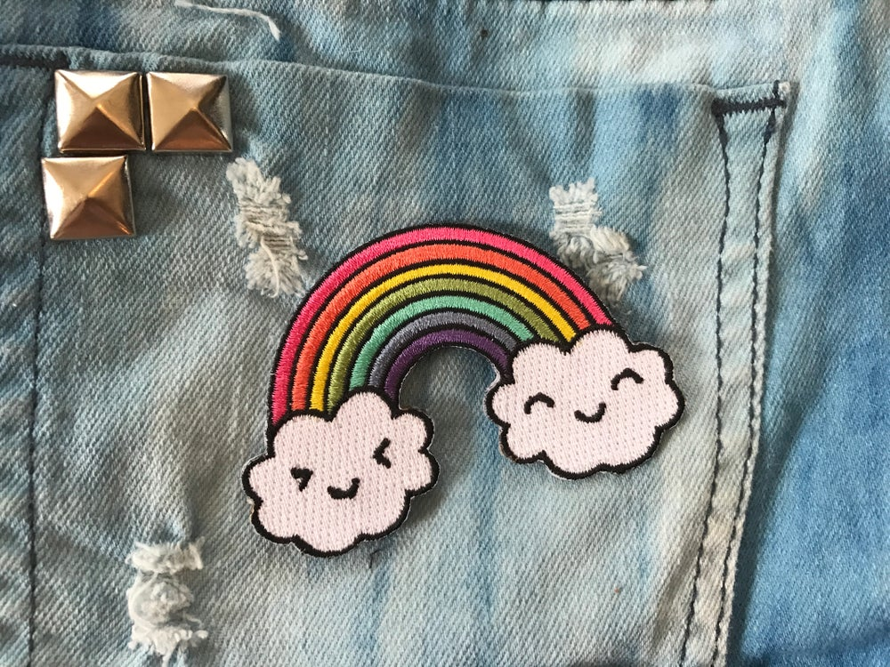 Image of Rainbow Cloud Patch