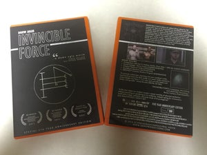 Image of INVINCIBLE FORCE - 5TH YEAR ANNIVERSARY DVD (LTD 100)