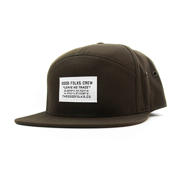 "Image of ""Leave No Trace"" Camp Cap"