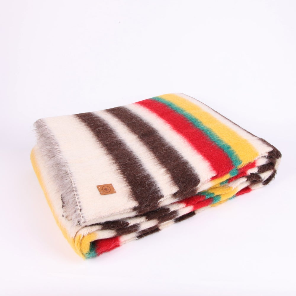Image of XL 'Shepherd Blanket' - lobeira colours