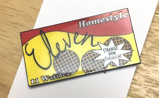 Image of Stranger Things Waffle Enamel Pin