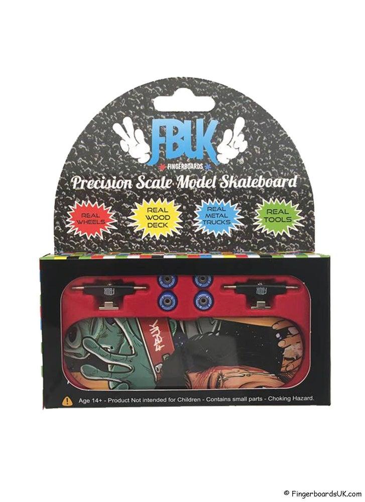Image of FBUK Pro Graphic Fingerboard Setup - Alien Invasion