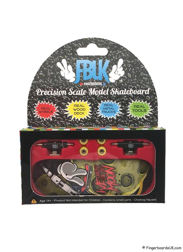 Image of FBUK Pro Graphic Fingerboard Setup - We Landed On The Moon