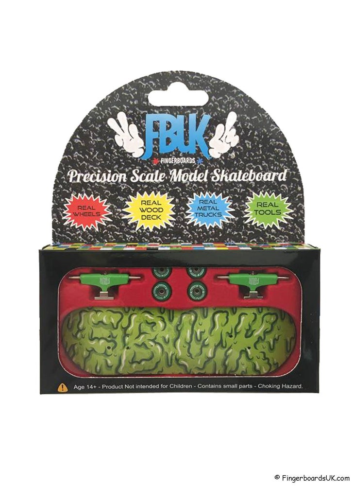 Image of FBUK Pro Graphic Fingerboard Setup - Slime