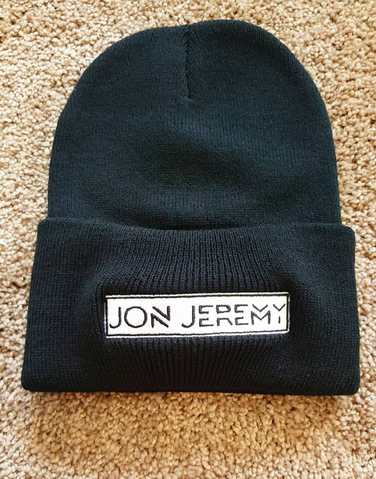 Image of Embroidered Jon Jeremy Cuffed Beanies