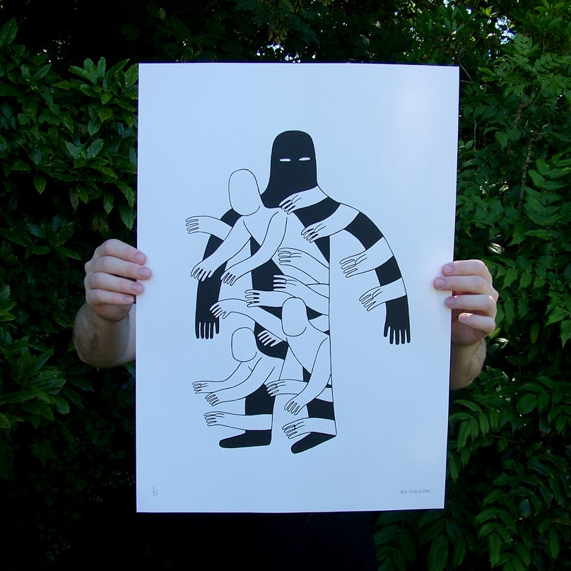 Image of The Hole - A2 screenprint