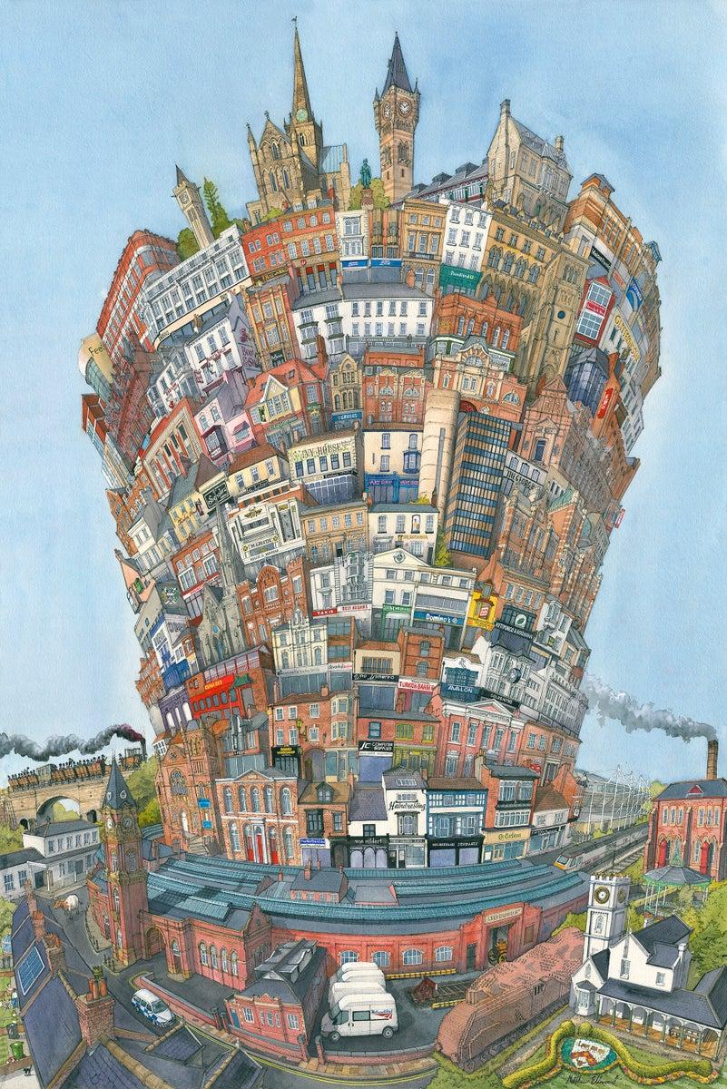 Small Town Auto >> The Tower of Darlington / Matthew Ellwood