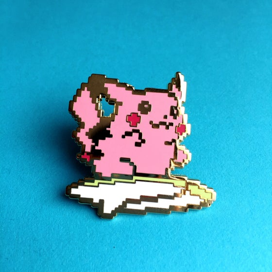 Image of 8bit Pinkachu (Series 2) Enamel Pin