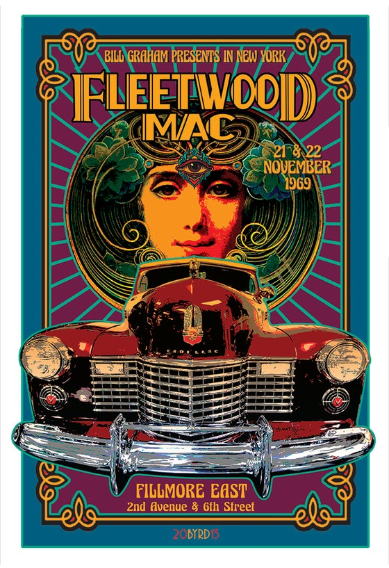 Image of FLEETWOOD MAC AT Fillmore East 1969