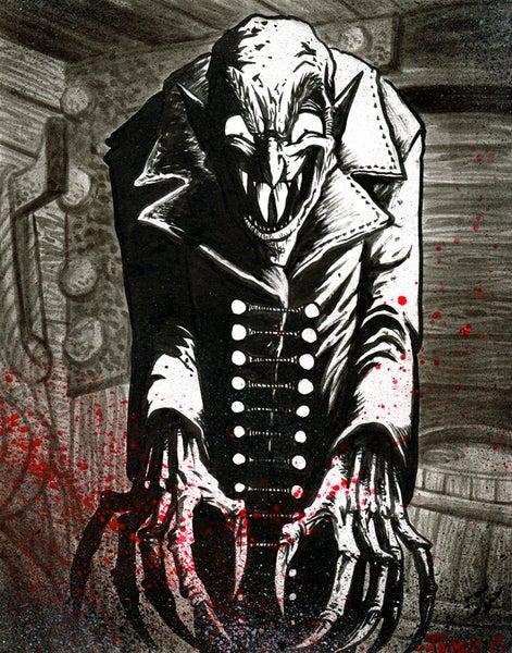 Image of 'Nosferatu' Art Print