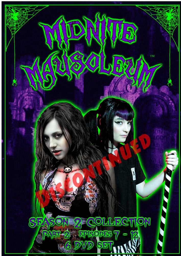 Image of Midnite Mausoleum- DVD Set Season 2, Part 2 DISCONTINUED