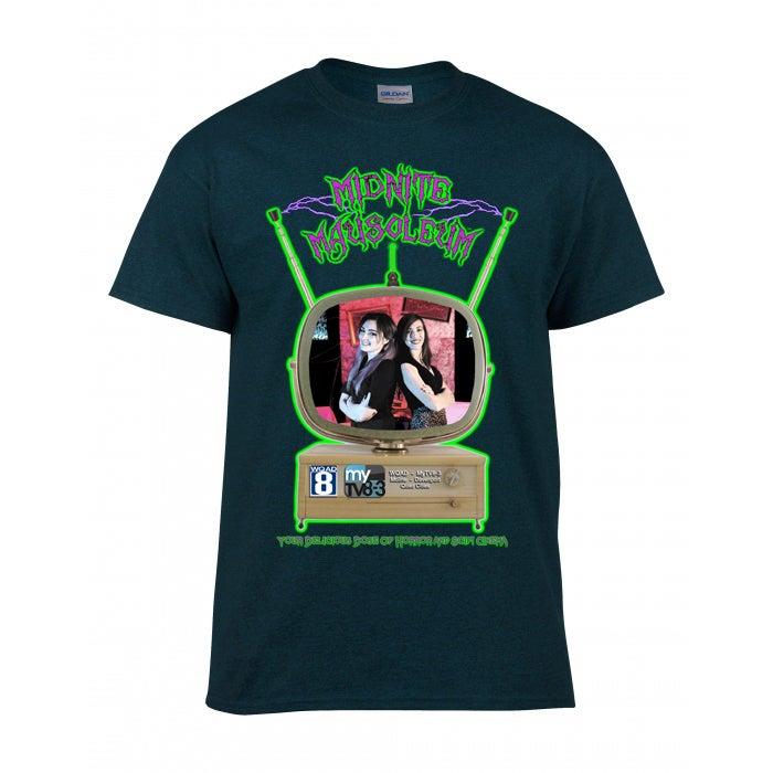 "Image of Midnite Mausoleum ""Vintage TV"" updated Shirt"