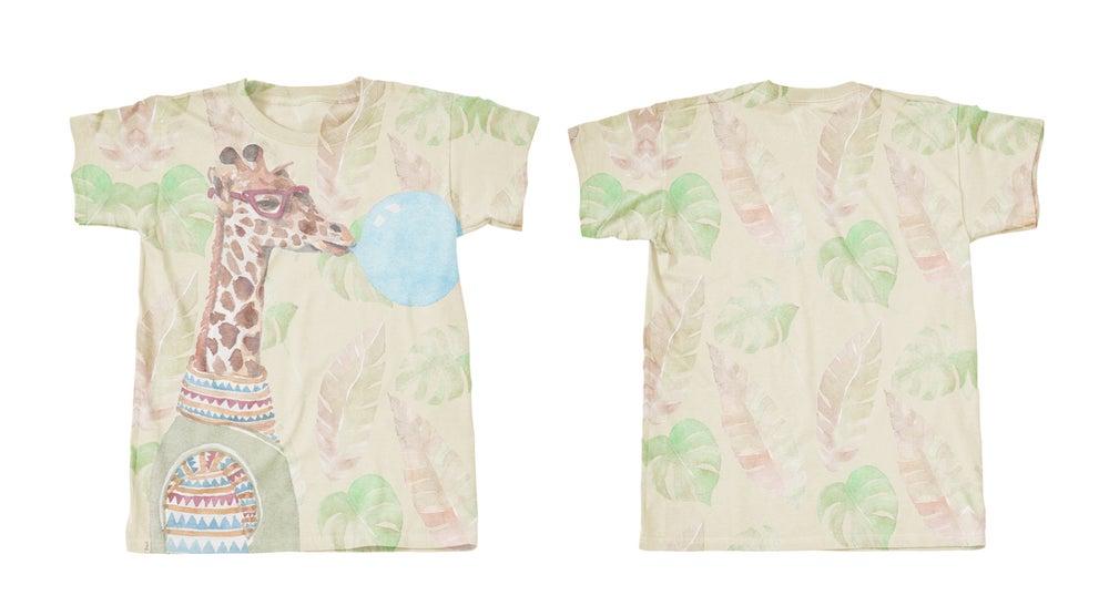 Image of Giraffe (tee-shirt garçon)