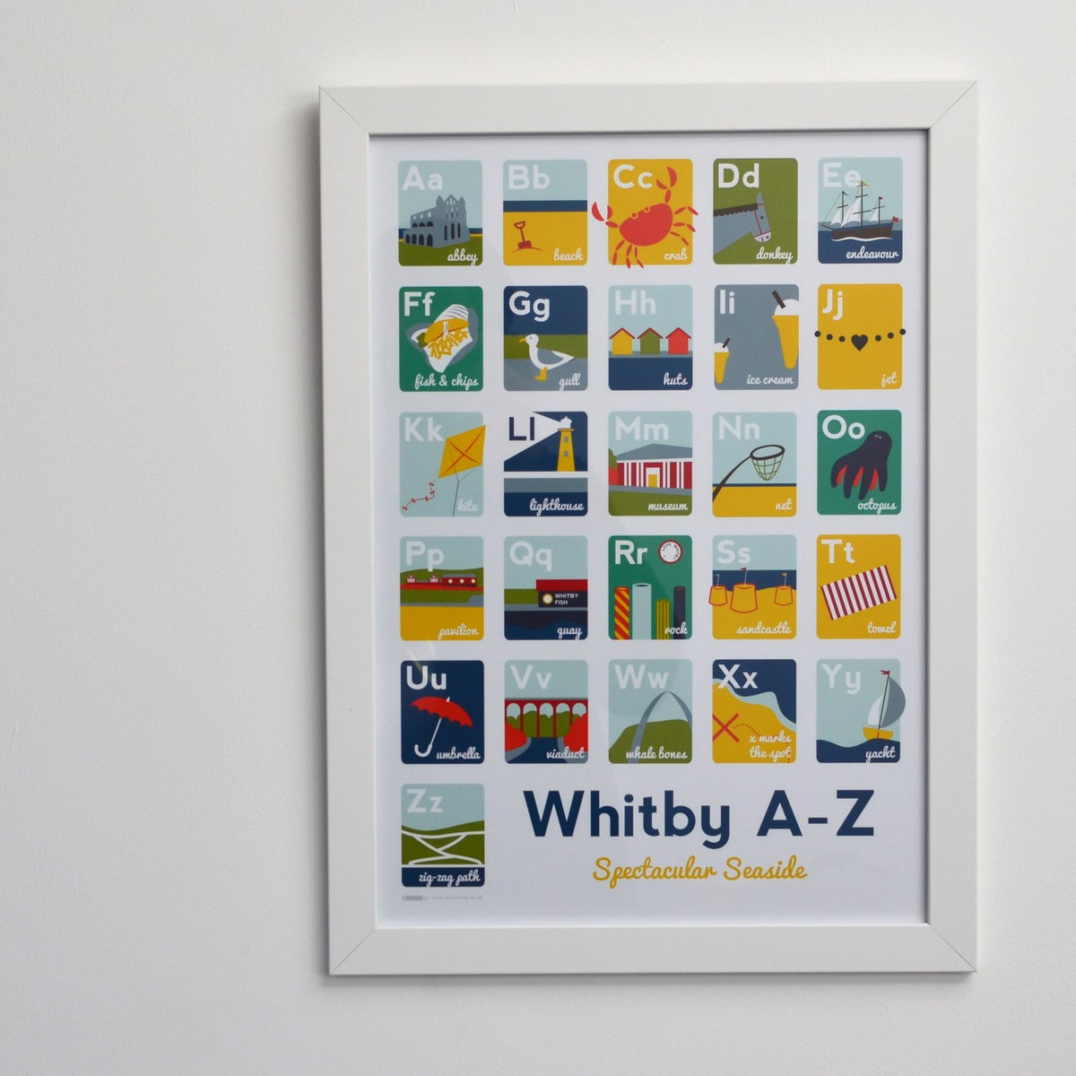 Image of Whitby A-Z A3 Print