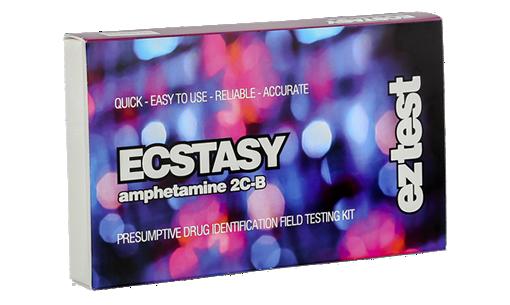 Image of Test Kit til Ecstasy, (meth)amfetamin, DXM, 2C-B mm. (indeholder 10 test)