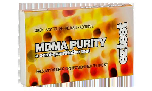 Image of Test Kit til måling af renhedensgraden af MDMA (indeholder 10 test)