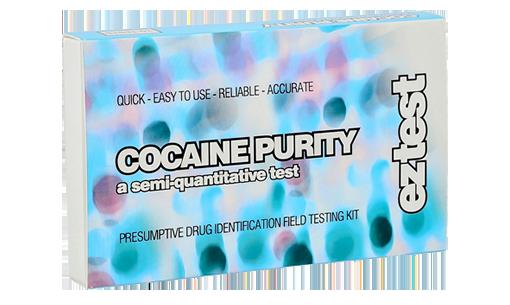Image of Test Kit til måling af renheden af kokain (indeholder 10 test)