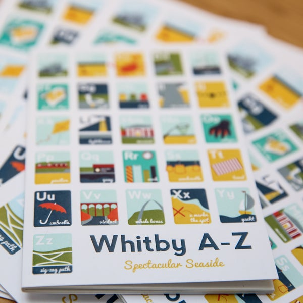 Image of Whitby A-Z A6 Notebook