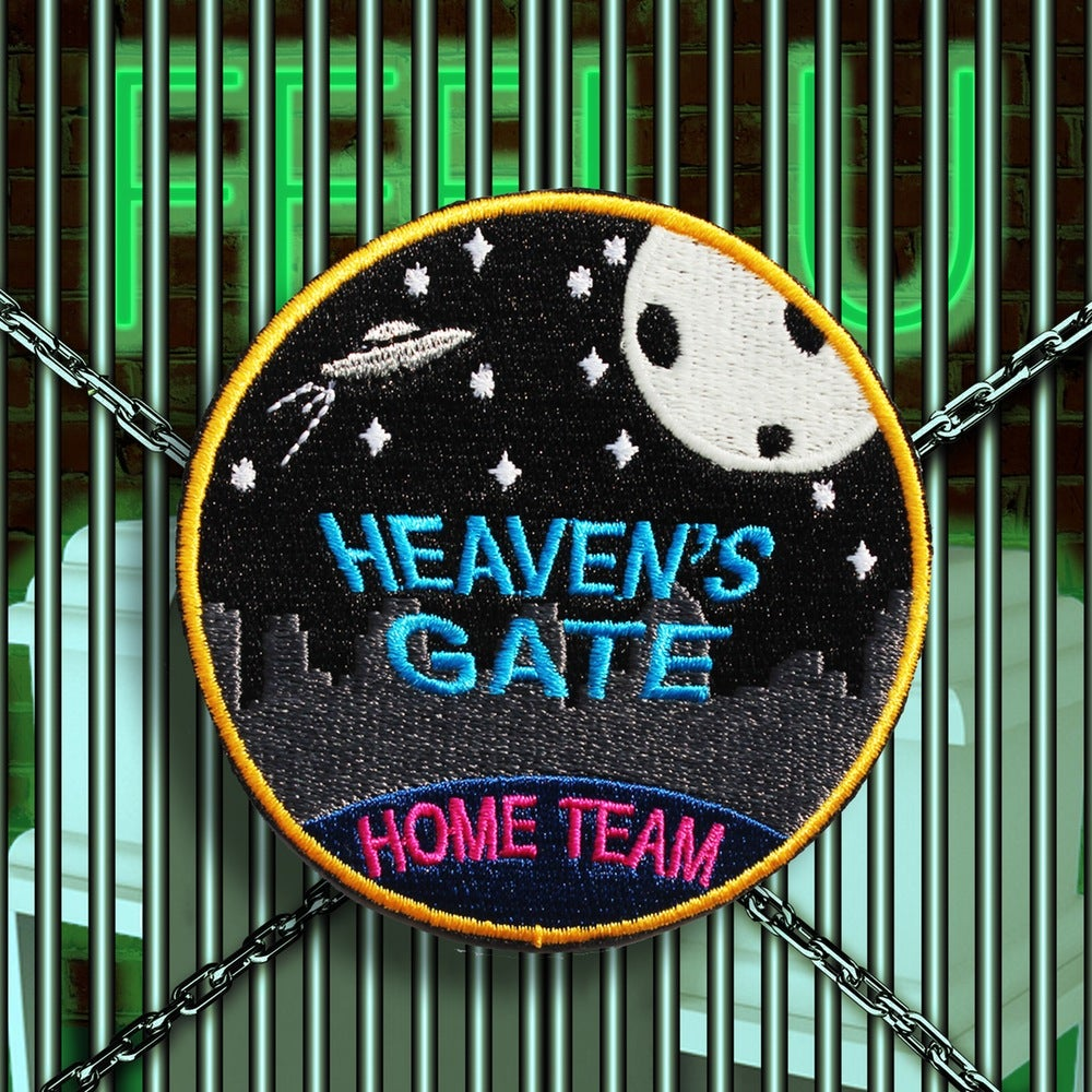 "Image of HEAVEN'S GATE ""HOME TEAM"" PATCH"
