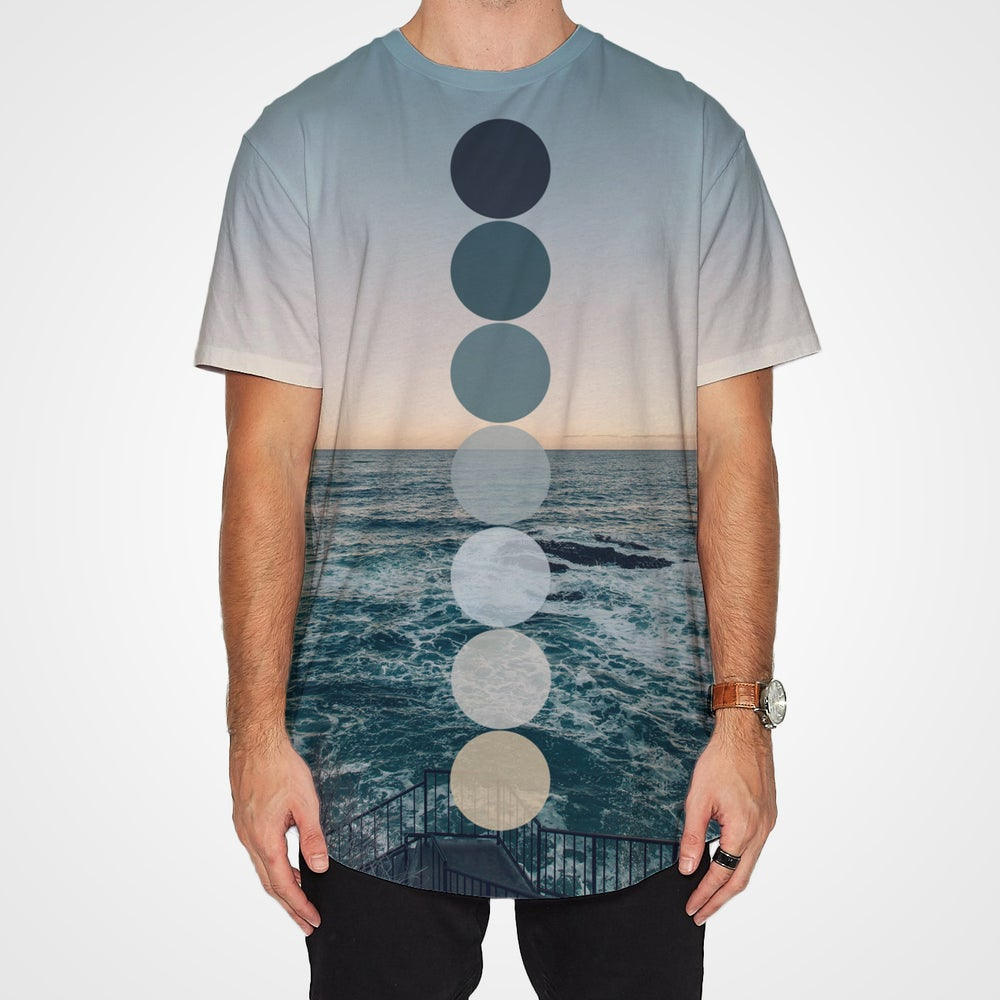 Image of Ocean Color Palette shirt