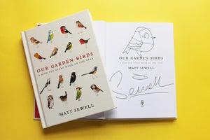 Image of Our Garden Birds - Signed/Drawn - Hardback