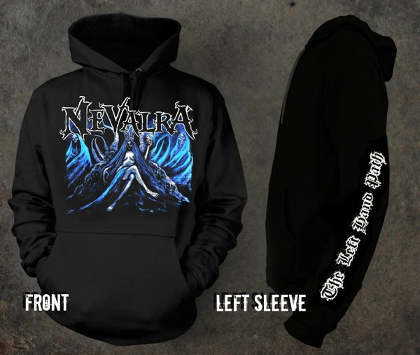 "Image of NEVALRA - ""The Left Hand Path"" Hoodie"