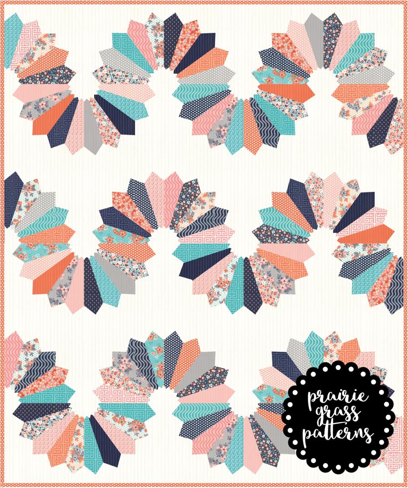 Image of #141 Serpentine Quilt Pattern {PAPER}