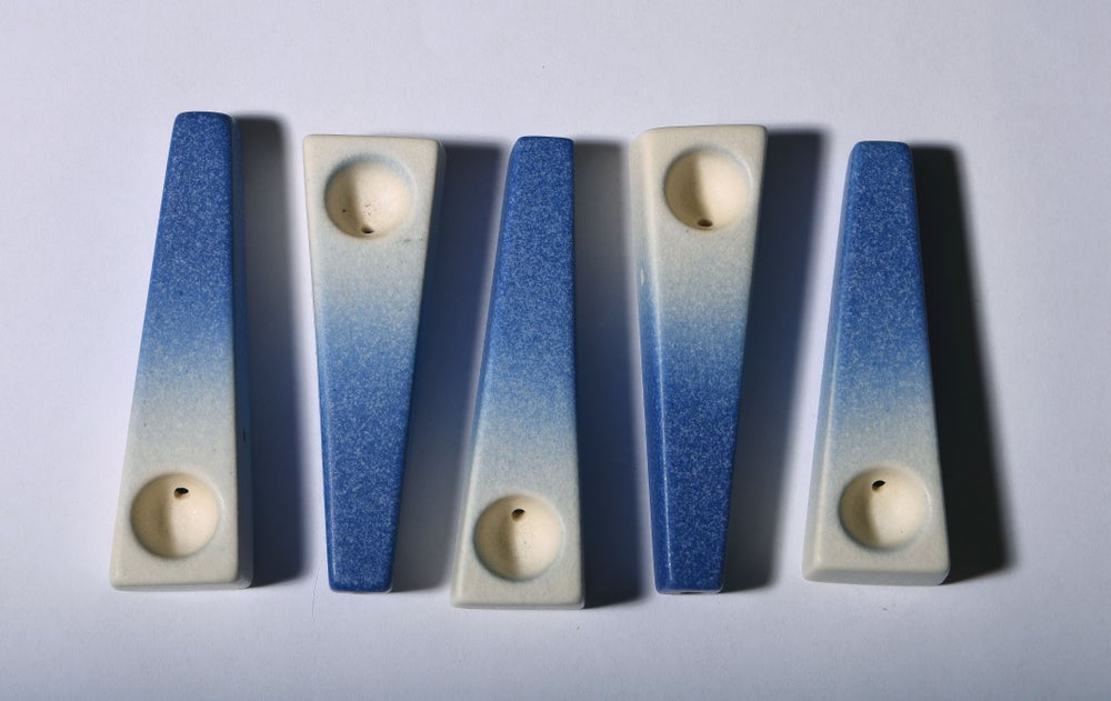 Image of Satin Blue Gradient