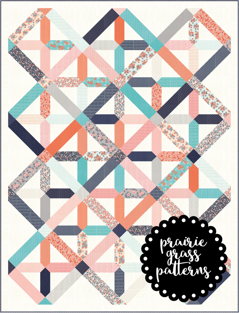Image of #144 Tinker Toy Quilt Pattern {PAPER}
