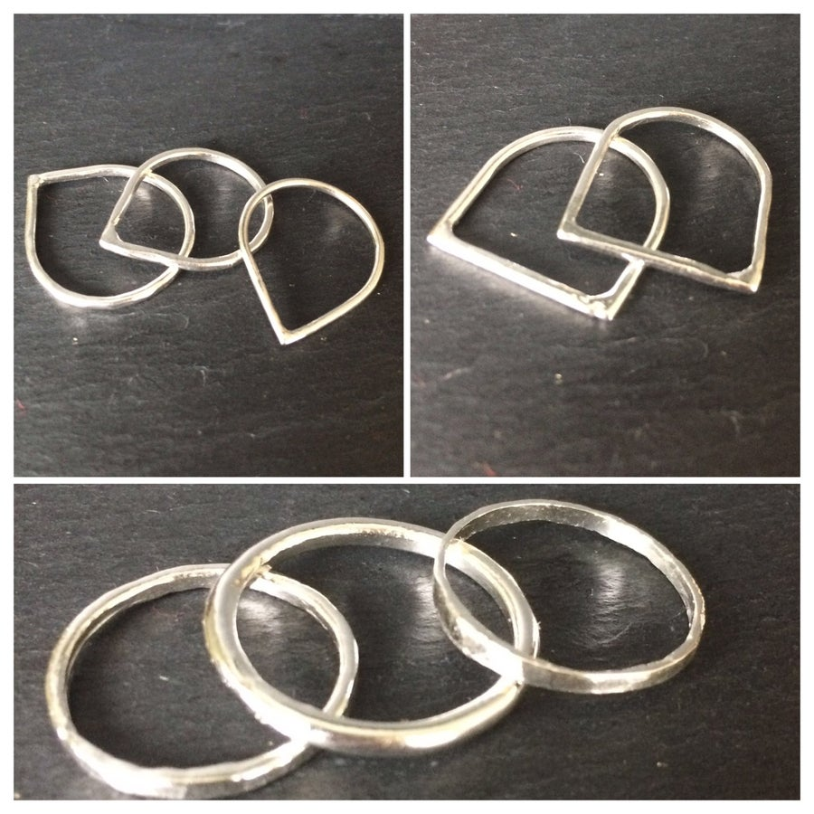 Image of Simple Stacked Rings