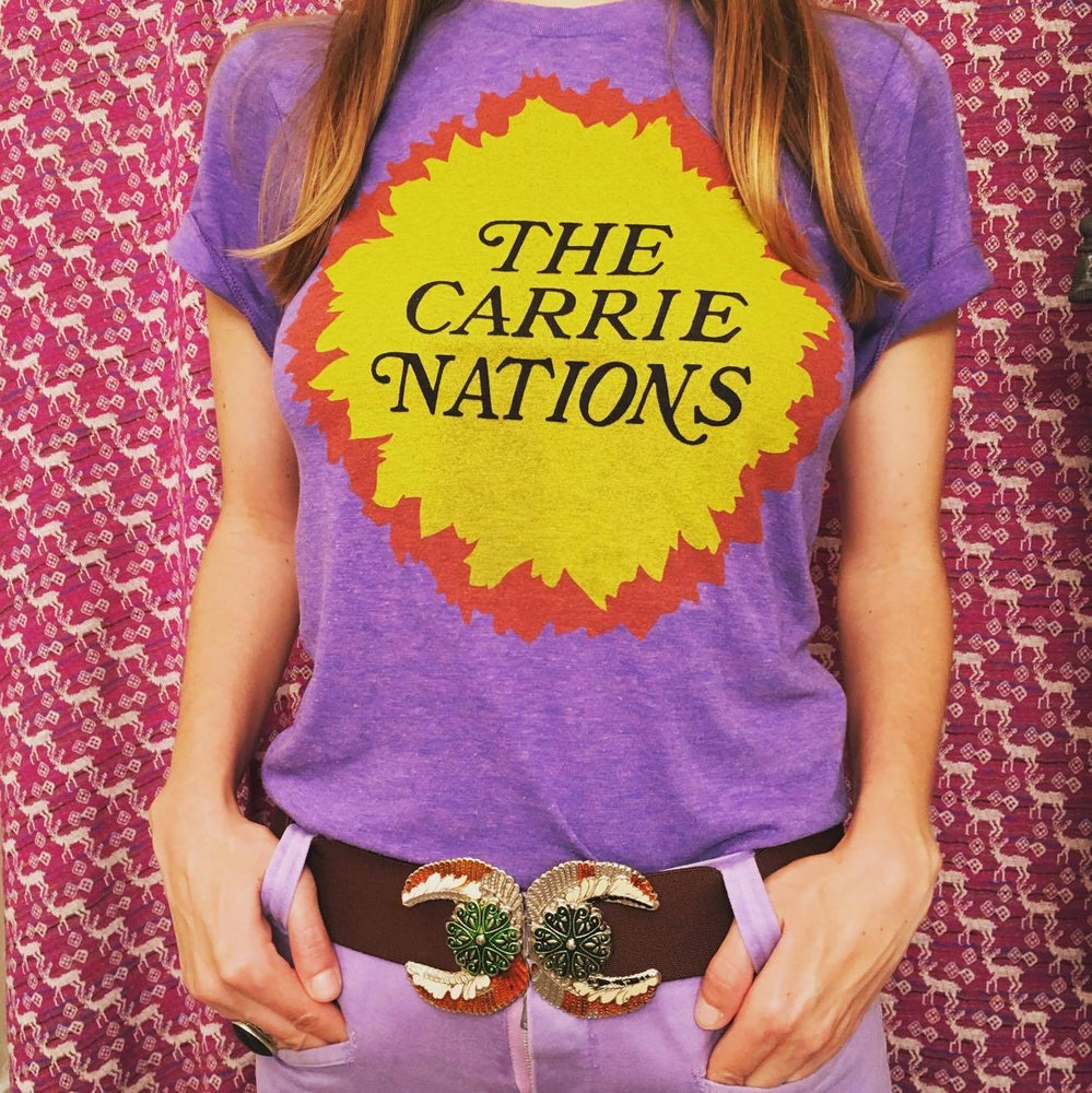 Image of The Carrie Nations t-shirt
