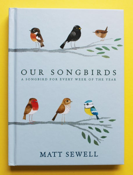 Image of Our Song Birds - Signed/Drawn Hardback