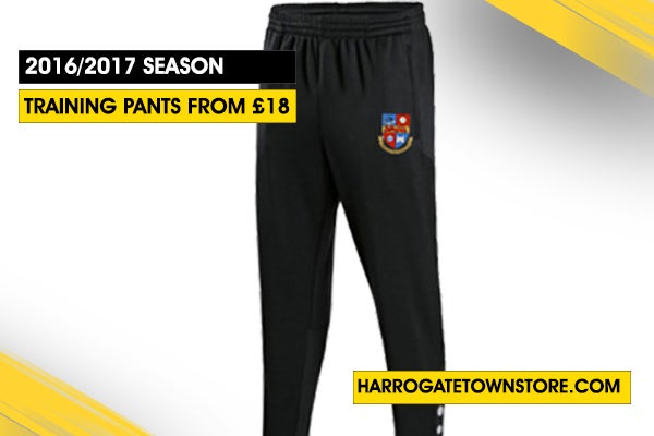 Image of Jako Training Pants with Harrogate Town Badge