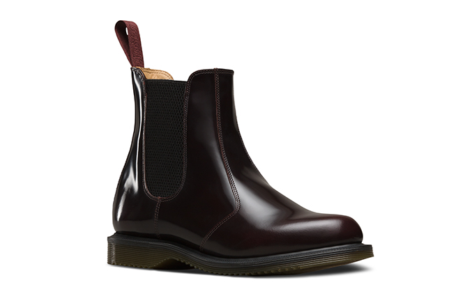 Image of Doc Martens - Flora Cherry Red Arcadia
