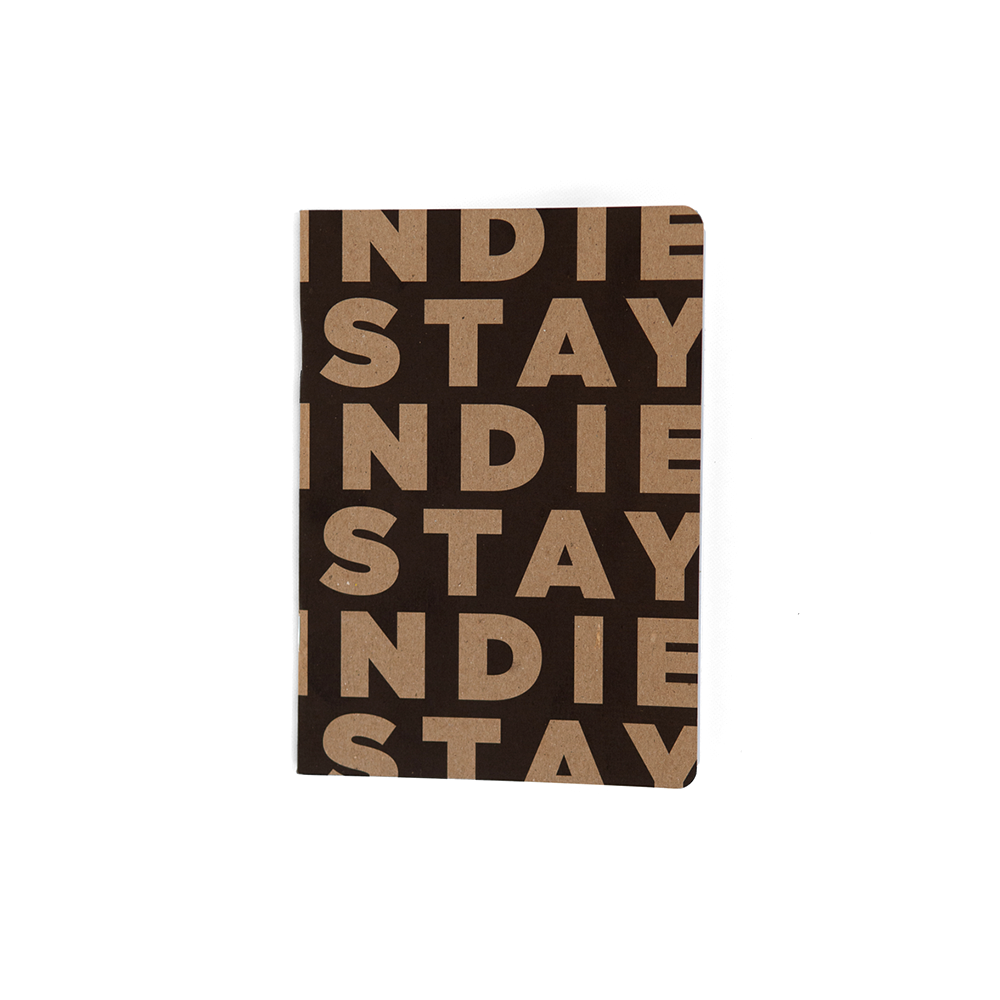 Image of Stay Indie Notebook
