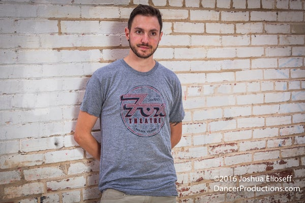 Image of Men's Gray Fox Theatre T-Shirt
