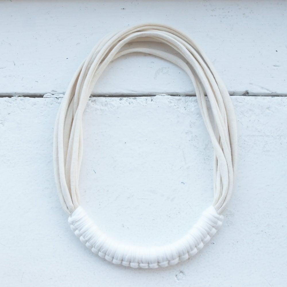 Image of Cream and white Macy